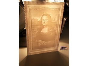 Mona Lisa Lithophane