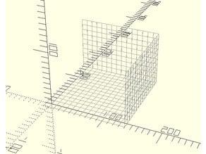 OpenSCAD Build Volume Visualiser