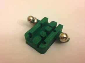 Mini Kossel Magnetic Arm Carriage