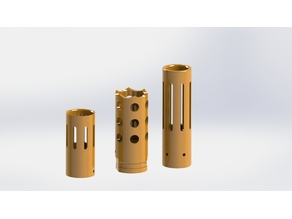 Muzzle brakes for all SAB blasters
