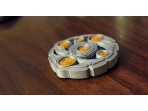 Keyforge Key Token - Multipart (seamless/less glue)