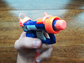 Nerf N-Strike Jolt Blaster Ghost Ring Sights