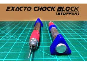 Exacto X-acto Hobby Knife Stopper (chock block)