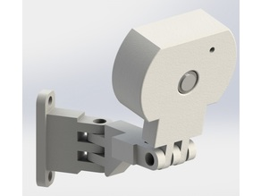 Raspicam case with 2 axis support