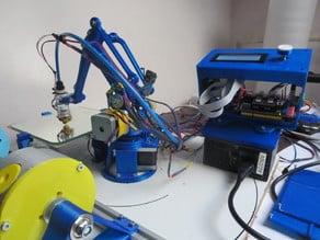 Electronics Robot arm 3D-printing