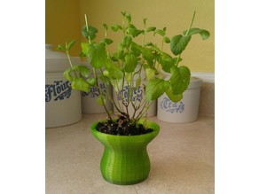 Double-Walled Flower Pot 1.0