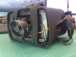Quanum v2 FPV goggle second camera mount