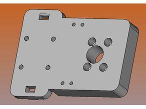 Tevo Tarantula Hotend-Halter für MGN12 Linear Schienen