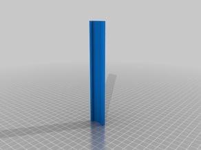 LED Light Strip Mount for Lulzbot mini