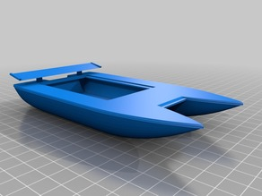 Customizeable RC Boat Hull