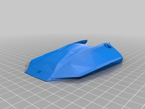 Head cover no GPS box for Foldable drone frame Mavic Clone