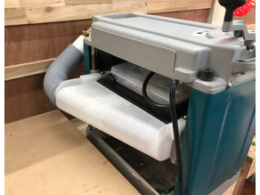 "Makita Dust Collector Hood for 2012 12"" Planer 193036"