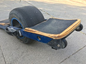 Wheeled bumpers for Onewheel+ and Onewheel V1