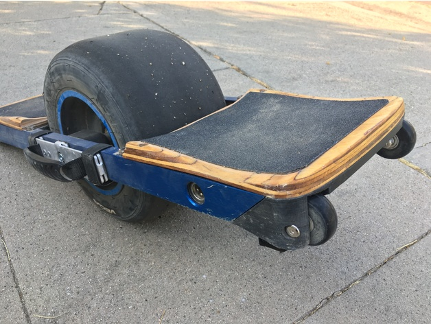 Wheeled bumpers for Onewheel+ and Onewheel V1 by ianjohnson