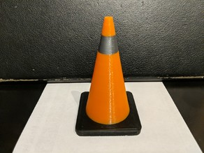 traffic cone 3 color