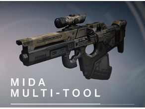 FIXed: Mida-Multi Tool (PRINTABLE: Parts re-oriented, editing form, fit, and slicing for better assembly)