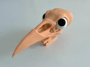 eyeball for Boneheads Raven Skull