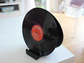 Ghostly Vinyl LP CD record stand