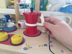 Xenos Mokka/Espresso Pot Handle - To be used as toy