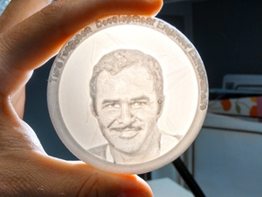 Turd Ferguson (Burt Reynolds) Medallion