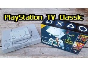 PlayStation TV case/shell