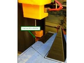 Monoprice Maker Select Mini (v2) Adjustable Z end stop