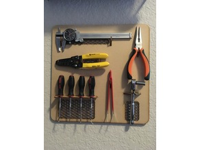 Hand Tool Wall Mount (MDF)