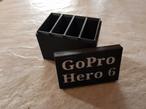 GoPro Hero 5 and 6 Battery Storage Case