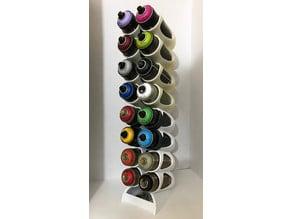 Customizable Spray Can Rack