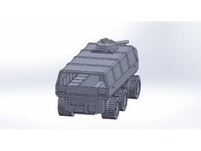 GI Joe Amphibious Personnel Carrier (A.P.C.)  Updated 5/19