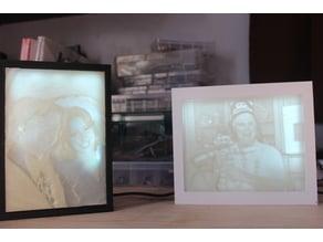 Lithophane Frames - Magnetic
