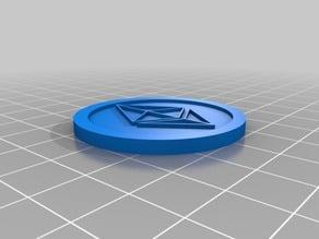 Ethereum Digital Coin 40x3mm v3