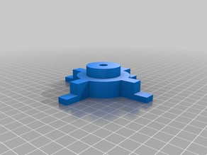 Spool holder for Mendel prusa i2 printer