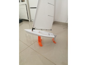 hydrofoil for RC laser dinghy sailboat