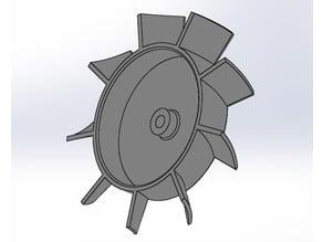 Fan Blade 40x40x10