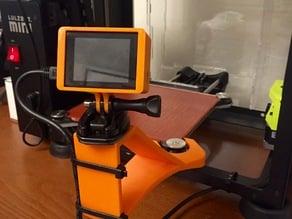 Lulzbot Mini Camera Mount - No Bracket