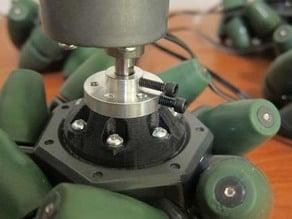 "Pololu Universal Hub to VEX 4"" Mecanum Wheel adapter"