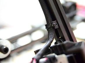 Aluminum Extrusion Cable Clip (for MendelMax)