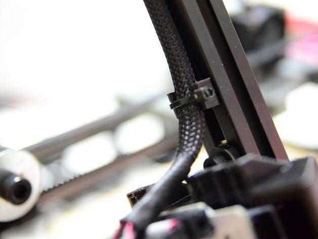 Aluminum Extrusion Cable Clip