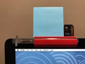 Thing holder for iMac
