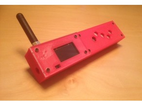 TTGO 2.1 ESP32 Paxcounter LoRa TTN OLED Case