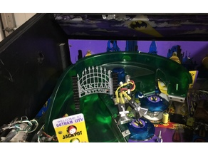 Arkham Gate Mod Batman Forever Pinball