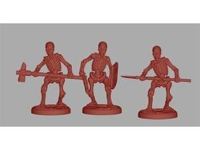 Skeleton / Esqueletos - RPG D&D Miniature