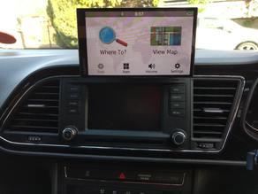 Garmin GPS mount Seat Leon 5F
