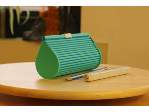 Multi-Color Zip Top Pencil Case