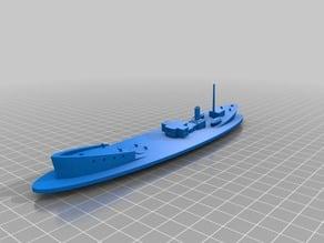 Sinking Coastal freighter
