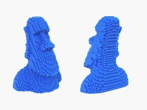 Voxel Moai