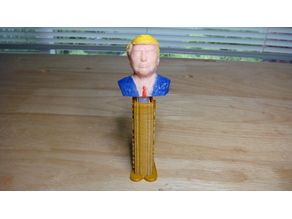 Trump PEZ dispenser
