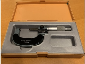 25-50mm Micrometer Tray