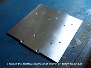 Replacement heated bed for Emaker Huxley